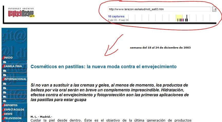 encontrar textos para web