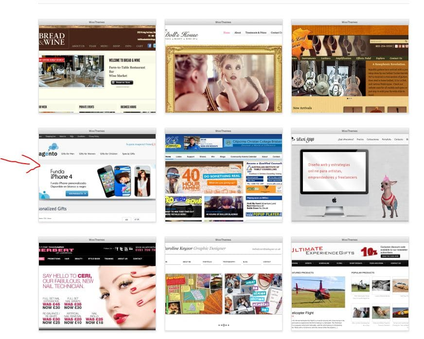 imagento woothemes
