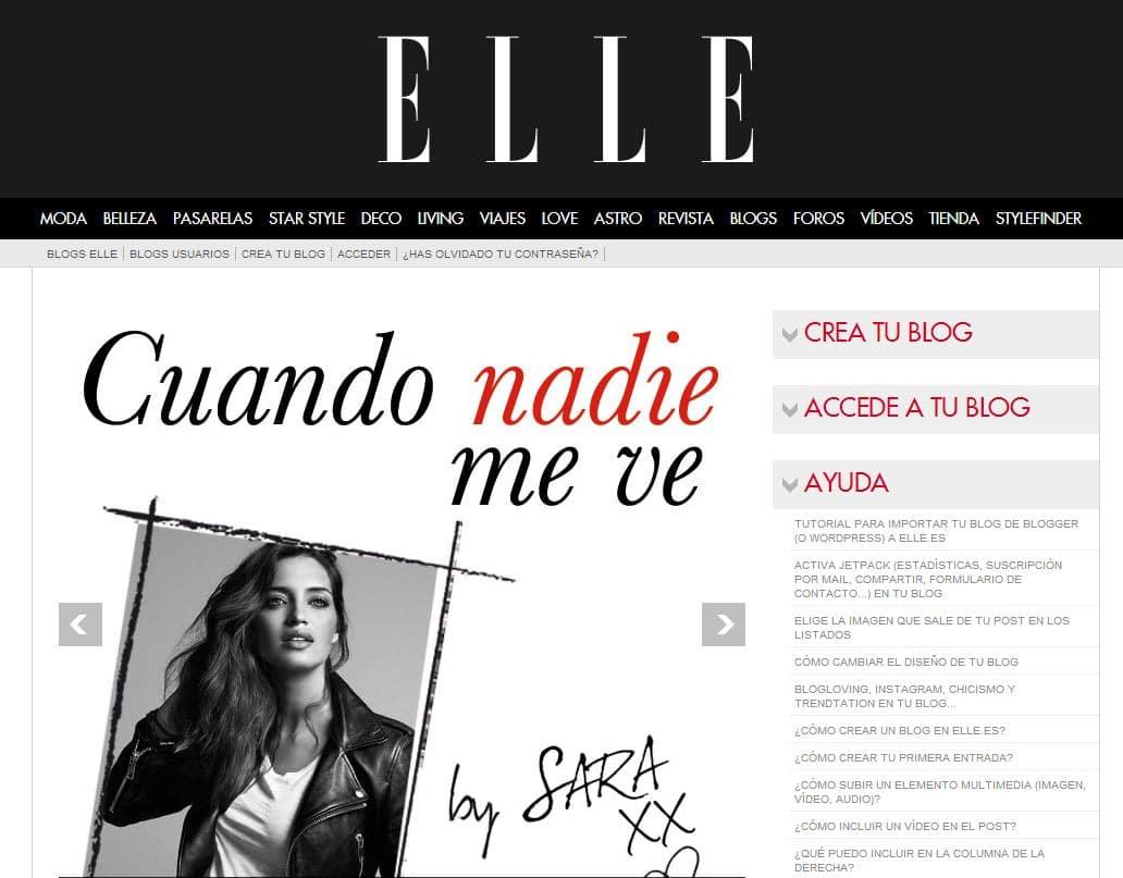 blog de paula echevarria en elle