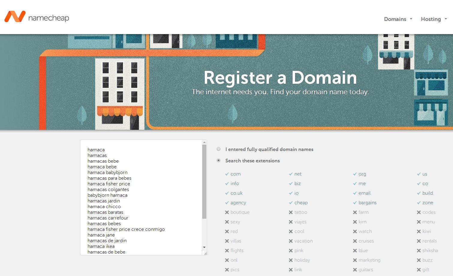 dominios libres
