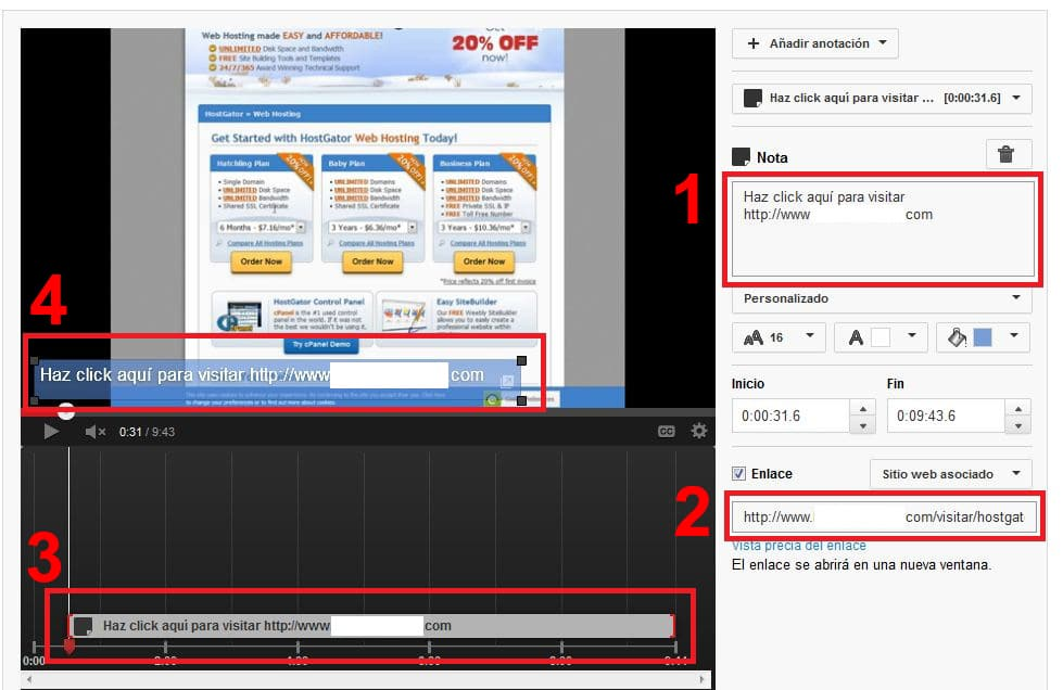 Editar video de youtube.com