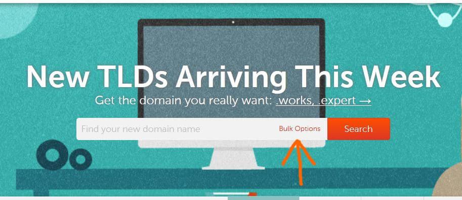 registro masivo de dominios